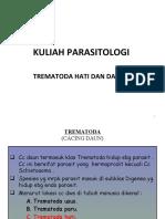 Kuliah 9 Parasitologi Ump.cacing Hati Darah-1