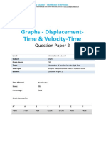 26.2-Graphs Displacement Time Velocity Time-cie Ial Maths-qp