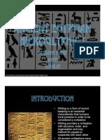 Hieroglyphs Presentation