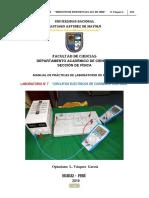 PRÁCTICA DE LABORATORIO N° 06 CIRCUITOS DE CORRRIENTE CONTINUA OLVG