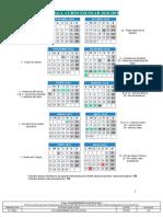 Malaga Calendario Escolar-18-19