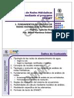 EPANET 01 - Fundamentos de Calculo