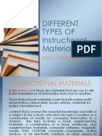 differenttypesofinstructionalmaterials-140504092838-phpapp02
