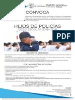 3 Convocatoria Hijos de Policas 2018 2019