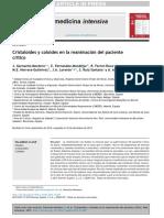 Cristaloides y coloides en la reanimación del paciente crítico pdf 2015 .pdf