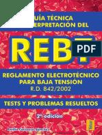 Test Resueltos del REBT