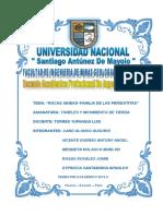 INFORME - RETROEXCAVADORA - TUNELES  TERMINADO.doc