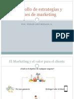 Desarrollo de Estrategias y Planes de Marketing
