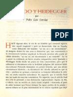 P Lain E - Quevedo y Heidegger