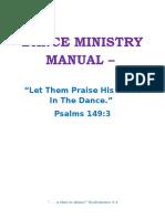 Majestic Life Dance Ministry Handbook - 2014
