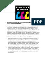 NY People's Platform