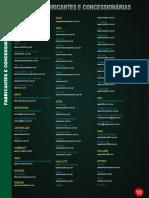 Lista de Fabricantes de 2013