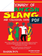 Dictionary of Spanish Slang and Colloquial ExpresDisions