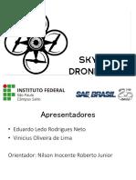 Apresentação equipe de drone skybotz
