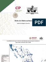 Reporte sobre robo de hidrocarburos en México