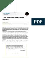 Zero Emissioni. Sì Ma a Che Prezzo_ - Repubblica.it