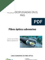 FIBRA OPTICA SUBMARINA