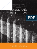 Songs and Old Forms Score
