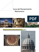 ARQ RENAC MANIERISMO