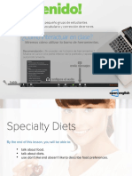 Classic Specialty Diets 1 2