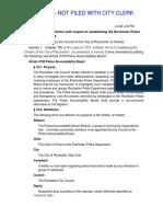 Draft Council PAB Legislation Released to Media - -1-14