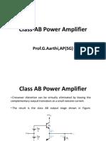 FALLSEM2018-19 ECE2002 ETH TT504 VL2018191002495 Reference Material I Class-AB-Power Amplifier