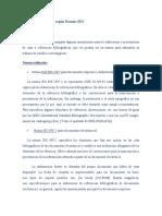Citas Bibliográficas Normas ISO Parte I by Patricia Tarallo