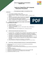 Temario TEL Educacion Parvularia
