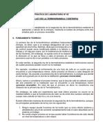 Practica 5 Segunda Ley de La Termodinamica