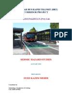 BRT Peshawar SHS (Final Report)