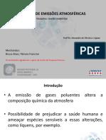 Apresentação - Gestão de Emissões Atmosféricas