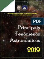 Fenômenos Astronômicos 2019