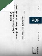 Sintesis de los Estilos Arquitectonicos.pdf
