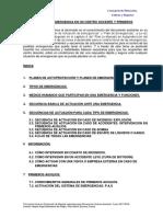 UNIDAD 4. Plan de Emergencias en Un Centro Docente y Primeros Auxilios