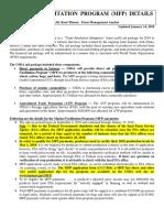 2018 Market Facilitation Program (MFP) Details (Updated 1-14-19)