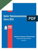 Informe Anual SUBTEL 2015