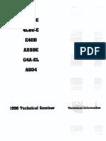 ATRA 1996 Seminar Manual