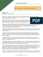 Articulo de La Plaza