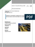 Análisis de Capacidad y Volúmenes de Servicio en Intersecciones a Nivel Controlado Con Semáforos.