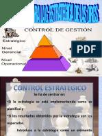 15.- Los Sistemas de Control Para La G.estrategica en Las Orgs.