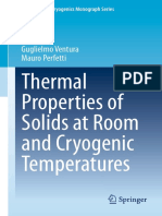 (International Cryogenics Monograph Series) Guglielmo Ventura, Mauro Perfetti (Auth.)-Thermal Properties of Solids at Room and Cryogenic Temperatures-Springer Netherlands (2014)