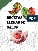 Recetario Taller de Nutricion Final
