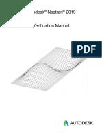 Autodesk Nastran 2019 Verification Manual