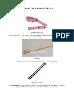Sewing Tools and Materials