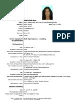 CV Mihaela Manea
