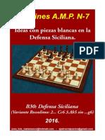 7 Ideas Con Piezas Blancas en La Defensa Siciliana.