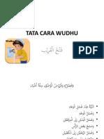 Tata Cara Wudhu - Fathul Qorib