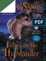 Lynsey Sands - Serie Highlanders Escocoses 04 - Cayendo Por El Higlander