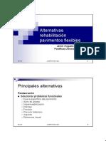 Alternativa Rehabilitacion Pavimentos Flexibles