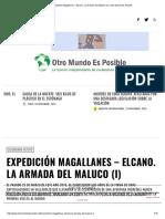 Expedición Magallanes – Elcano. La Armada Del Maluco (I) _ Otro Mundo Es Posible